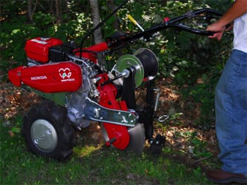 Certified Used Trenchers, Honda Trenchers