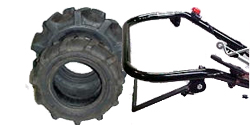 Replacement Trencher Tires and Miscellaneous Trencher Parts